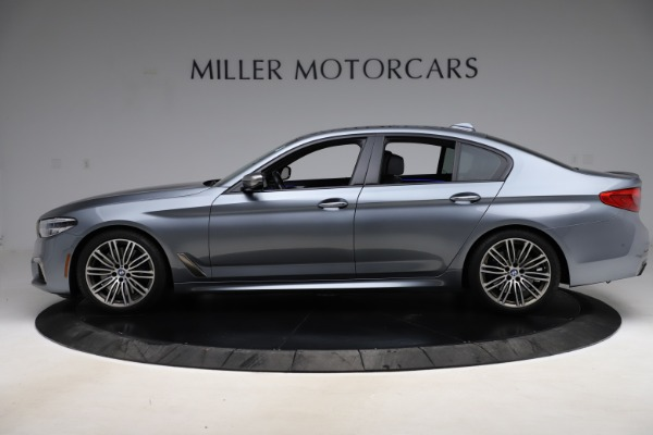 Used 2018 BMW 5 Series M550i xDrive for sale $49,900 at McLaren Greenwich in Greenwich CT 06830 3