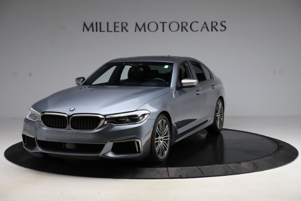 Used 2018 BMW 5 Series M550i xDrive for sale $49,900 at McLaren Greenwich in Greenwich CT 06830 1