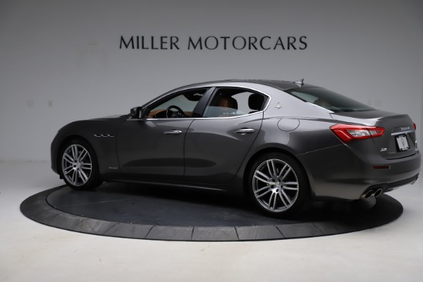 Used 2018 Maserati Ghibli SQ4 GranLusso for sale $51,900 at McLaren Greenwich in Greenwich CT 06830 4