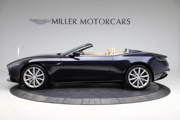 New 2021 Aston Martin DB11 Volante Convertible for sale $274,916 at McLaren Greenwich in Greenwich CT 06830 2