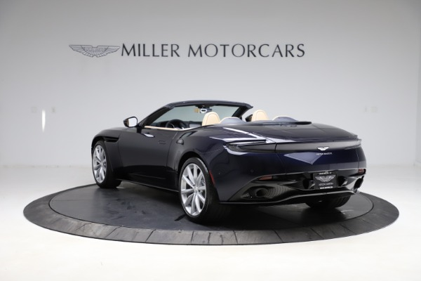 New 2021 Aston Martin DB11 Volante Convertible for sale $274,916 at McLaren Greenwich in Greenwich CT 06830 4