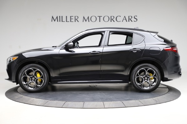 New 2021 Alfa Romeo Stelvio Ti Sport Q4 for sale Sold at McLaren Greenwich in Greenwich CT 06830 3