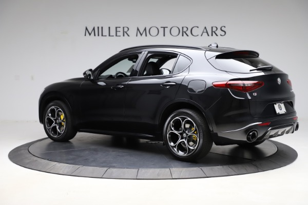 New 2021 Alfa Romeo Stelvio Ti Sport Q4 for sale Sold at McLaren Greenwich in Greenwich CT 06830 4