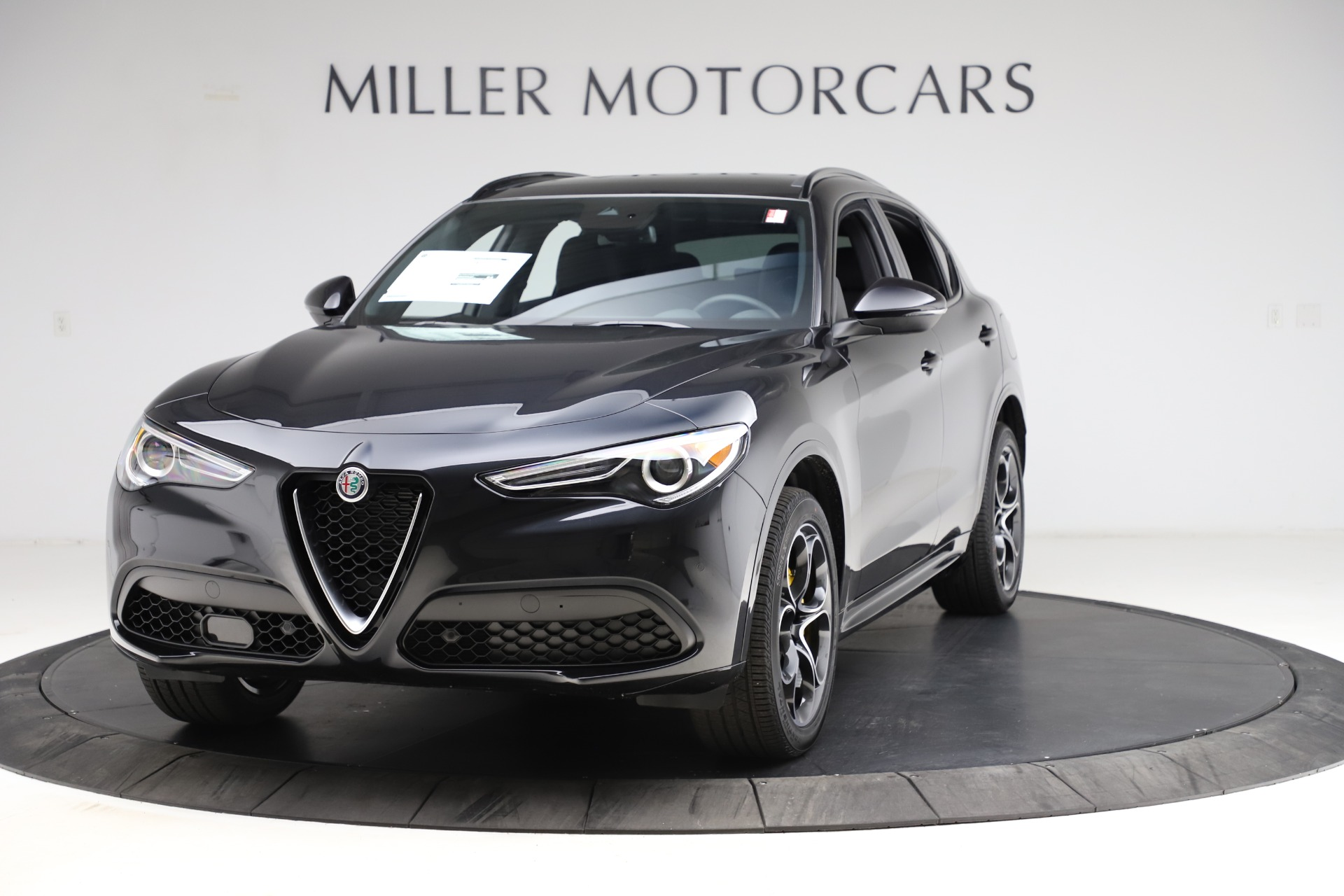 New 2021 Alfa Romeo Stelvio Ti Sport Q4 for sale Sold at McLaren Greenwich in Greenwich CT 06830 1