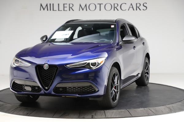 New 2021 Alfa Romeo Stelvio Ti Sport Q4 for sale $56,750 at McLaren Greenwich in Greenwich CT 06830 1