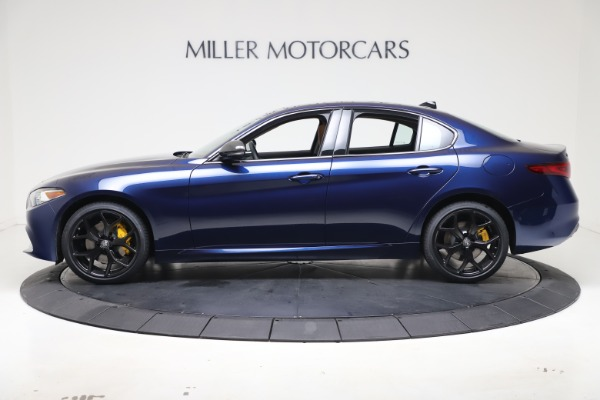 New 2021 Alfa Romeo Giulia Ti Q4 for sale $51,100 at McLaren Greenwich in Greenwich CT 06830 3