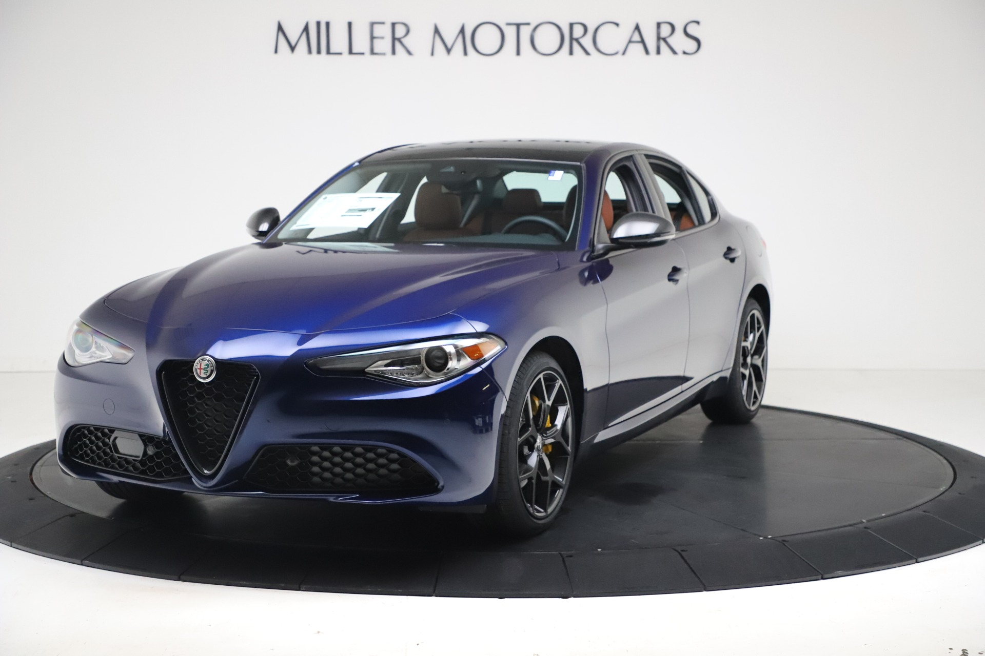 New 2021 Alfa Romeo Giulia Ti Q4 for sale $51,100 at McLaren Greenwich in Greenwich CT 06830 1
