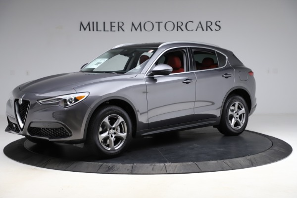New 2021 Alfa Romeo Stelvio Q4 for sale $48,050 at McLaren Greenwich in Greenwich CT 06830 2