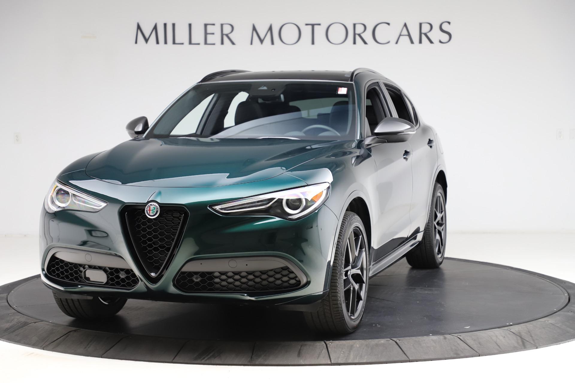 New 2021 Alfa Romeo Stelvio Ti Sport Q4 for sale $56,450 at McLaren Greenwich in Greenwich CT 06830 1