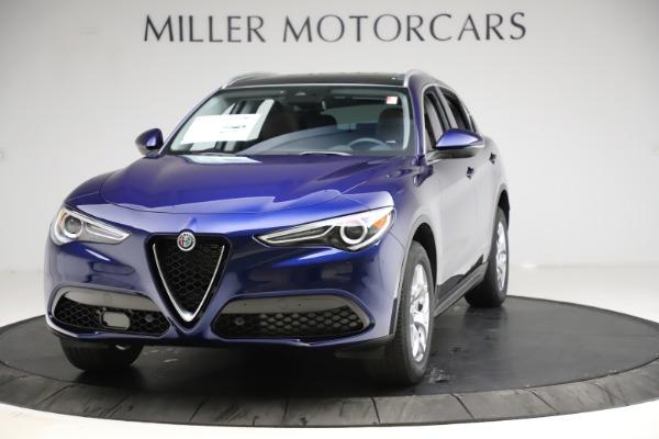New 2021 Alfa Romeo Stelvio Q4 for sale $49,145 at McLaren Greenwich in Greenwich CT 06830 1