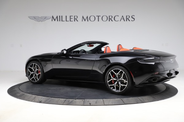 Used 2019 Aston Martin DB11 Volante Volante for sale $204,900 at McLaren Greenwich in Greenwich CT 06830 3