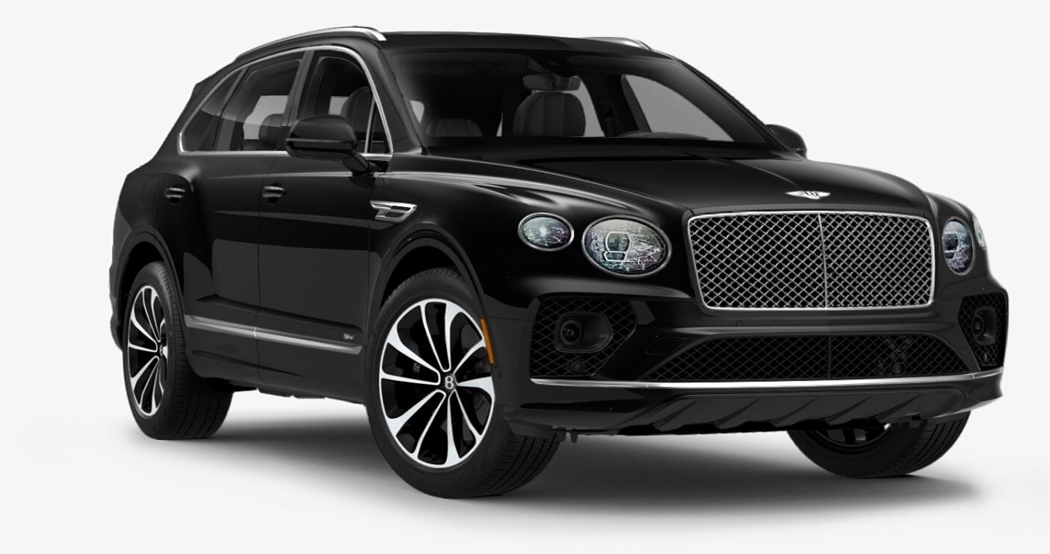 New 2021 Bentley Bentayga Hybrid V6 for sale $204,055 at McLaren Greenwich in Greenwich CT 06830 1