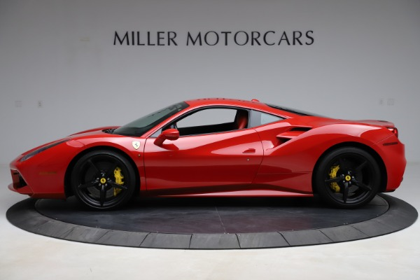 Used 2018 Ferrari 488 GTB for sale $209,900 at McLaren Greenwich in Greenwich CT 06830 3