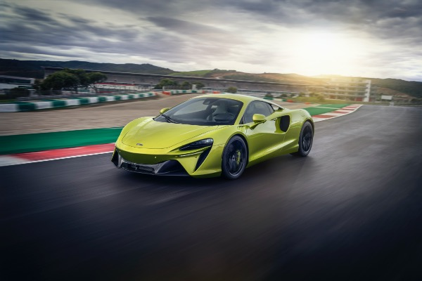 New 2021 McLaren Artura for sale Call for price at McLaren Greenwich in Greenwich CT 06830 3