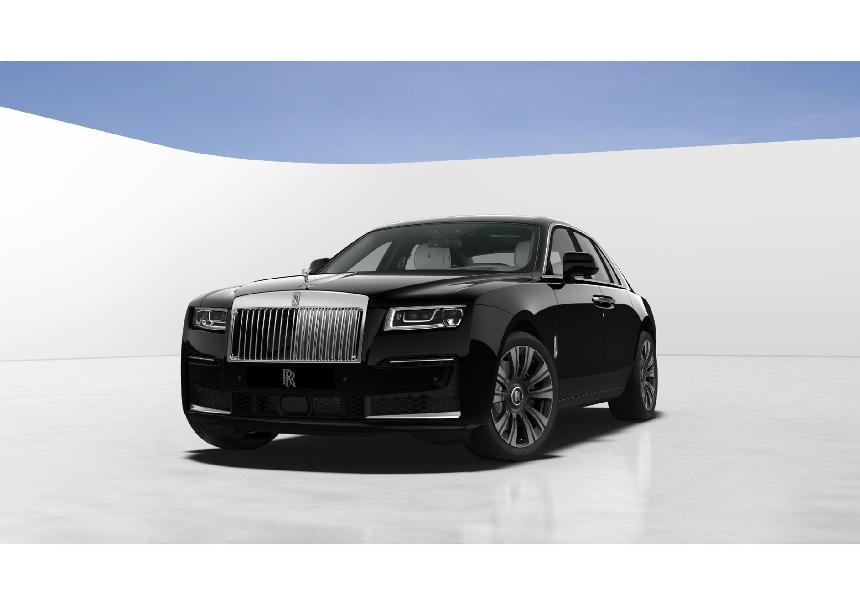New 2021 Rolls-Royce Ghost for sale $378,350 at McLaren Greenwich in Greenwich CT 06830 1
