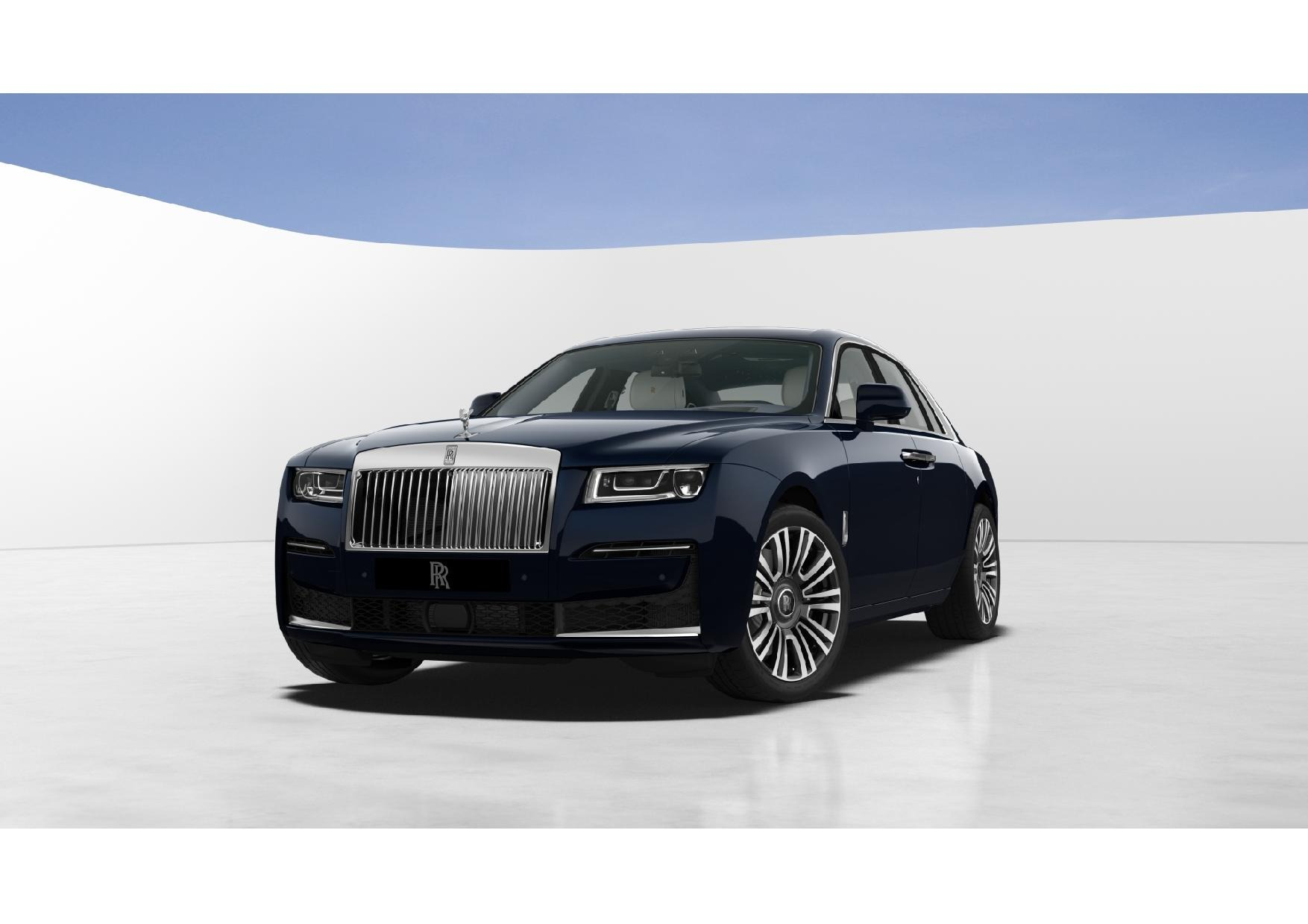 New 2021 Rolls-Royce Ghost for sale $382,250 at McLaren Greenwich in Greenwich CT 06830 1
