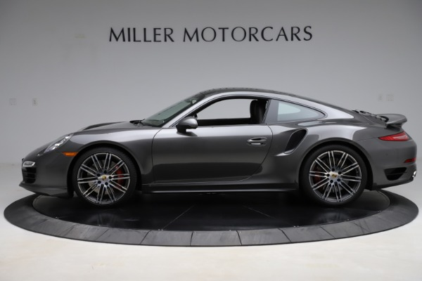 Used 2015 Porsche 911 Turbo for sale $109,900 at McLaren Greenwich in Greenwich CT 06830 3