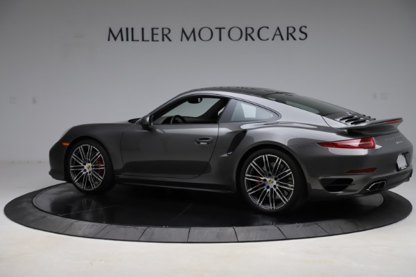Used 2015 Porsche 911 Turbo for sale $109,900 at McLaren Greenwich in Greenwich CT 06830 4
