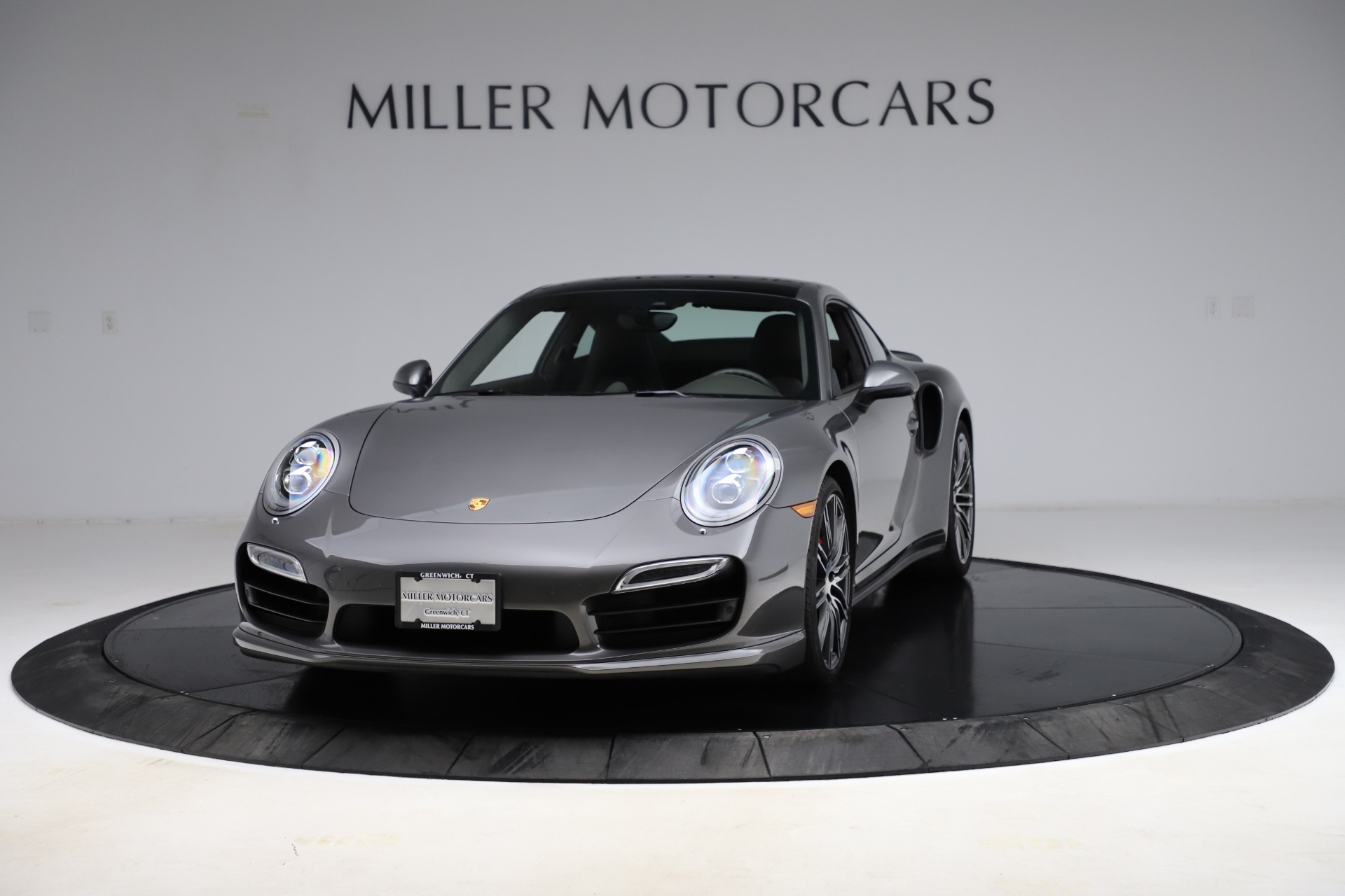 Used 2015 Porsche 911 Turbo for sale $109,900 at McLaren Greenwich in Greenwich CT 06830 1