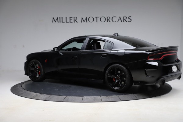 Used 2018 Dodge Charger SRT Hellcat for sale $59,900 at McLaren Greenwich in Greenwich CT 06830 4