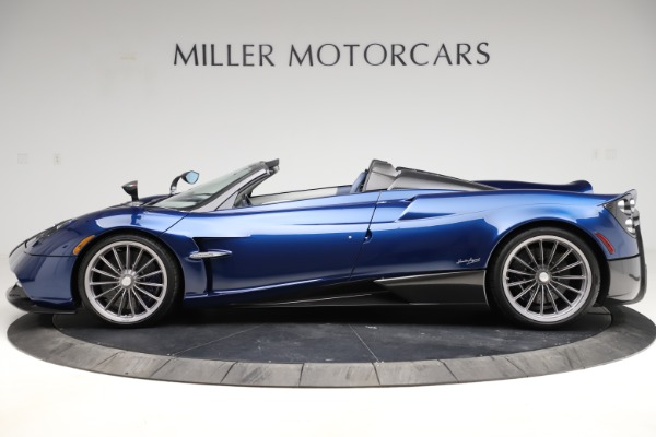 Used 2017 Pagani Huayra Roadster for sale Call for price at McLaren Greenwich in Greenwich CT 06830 3