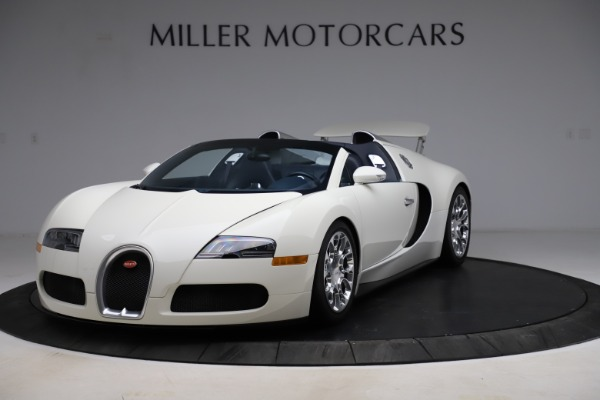 Used 2010 Bugatti Veyron 16.4 Grand Sport for sale Call for price at McLaren Greenwich in Greenwich CT 06830 2