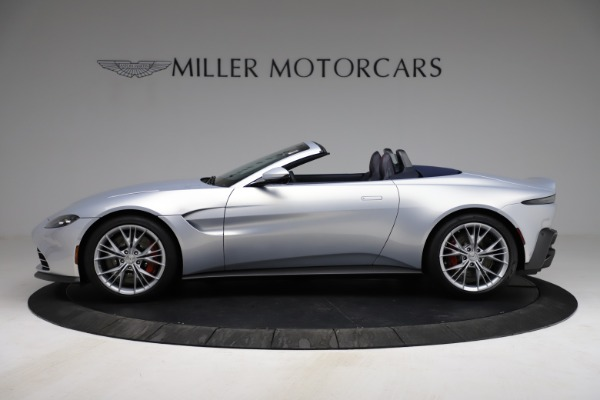 New 2021 Aston Martin Vantage Roadster for sale $184,286 at McLaren Greenwich in Greenwich CT 06830 2