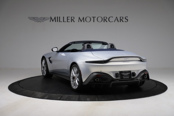 New 2021 Aston Martin Vantage Roadster for sale $184,286 at McLaren Greenwich in Greenwich CT 06830 4