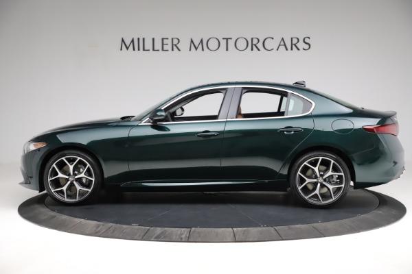New 2021 Alfa Romeo Giulia Ti Q4 for sale $52,600 at McLaren Greenwich in Greenwich CT 06830 4