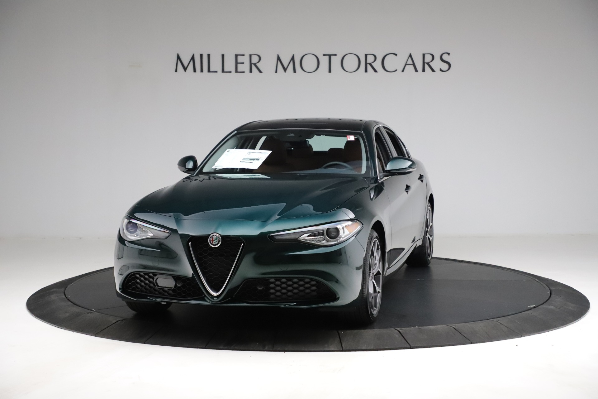 New 2021 Alfa Romeo Giulia Ti Q4 for sale $52,600 at McLaren Greenwich in Greenwich CT 06830 1