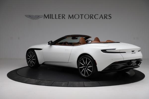 New 2021 Aston Martin DB11 Volante for sale $272,686 at McLaren Greenwich in Greenwich CT 06830 3