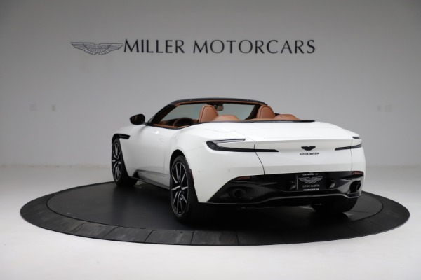 New 2021 Aston Martin DB11 Volante for sale $272,686 at McLaren Greenwich in Greenwich CT 06830 4