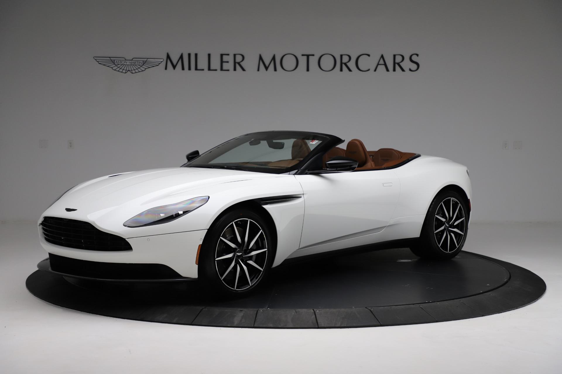 New 2021 Aston Martin DB11 Volante for sale $272,686 at McLaren Greenwich in Greenwich CT 06830 1