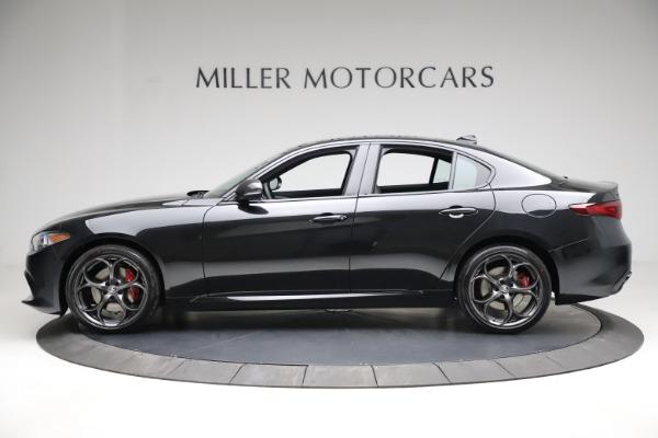 New 2021 Alfa Romeo Giulia Ti Sport Q4 for sale $53,850 at McLaren Greenwich in Greenwich CT 06830 3