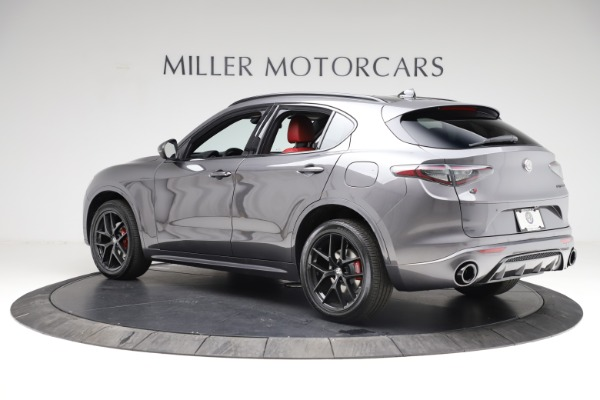 New 2021 Alfa Romeo Stelvio Ti Sport Q4 for sale Sold at McLaren Greenwich in Greenwich CT 06830 4