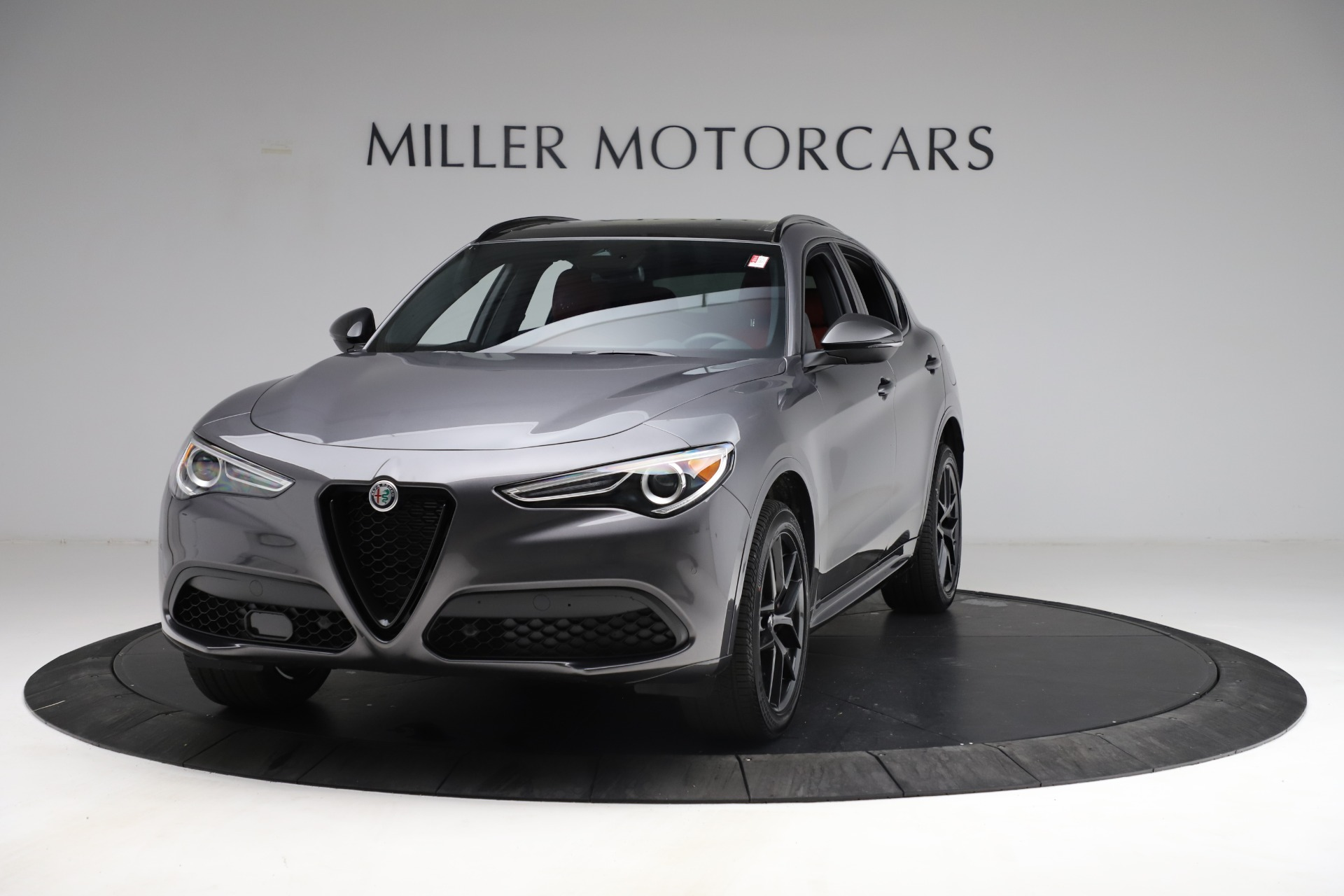 New 2021 Alfa Romeo Stelvio Ti Sport Q4 for sale Sold at McLaren Greenwich in Greenwich CT 06830 1