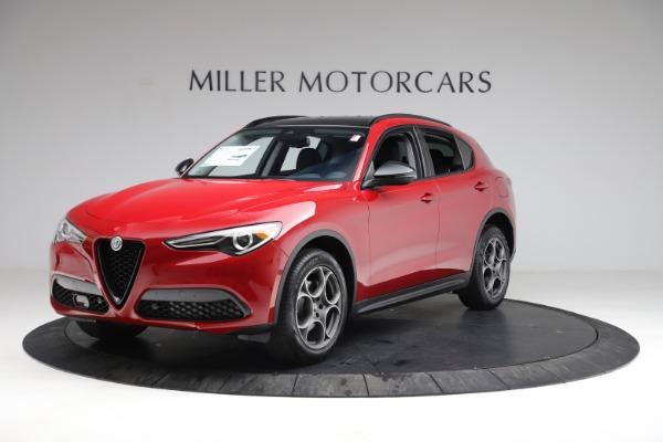 New 2021 Alfa Romeo Stelvio Q4 for sale $50,535 at McLaren Greenwich in Greenwich CT 06830 2