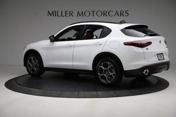 New 2021 Alfa Romeo Stelvio Q4 for sale Sold at McLaren Greenwich in Greenwich CT 06830 4