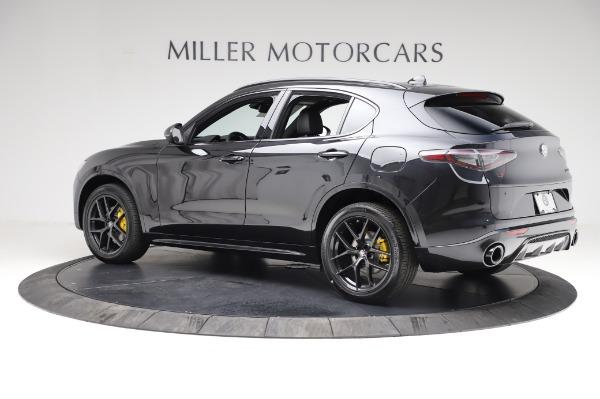 New 2021 Alfa Romeo Stelvio Ti Sport Q4 for sale $57,595 at McLaren Greenwich in Greenwich CT 06830 4