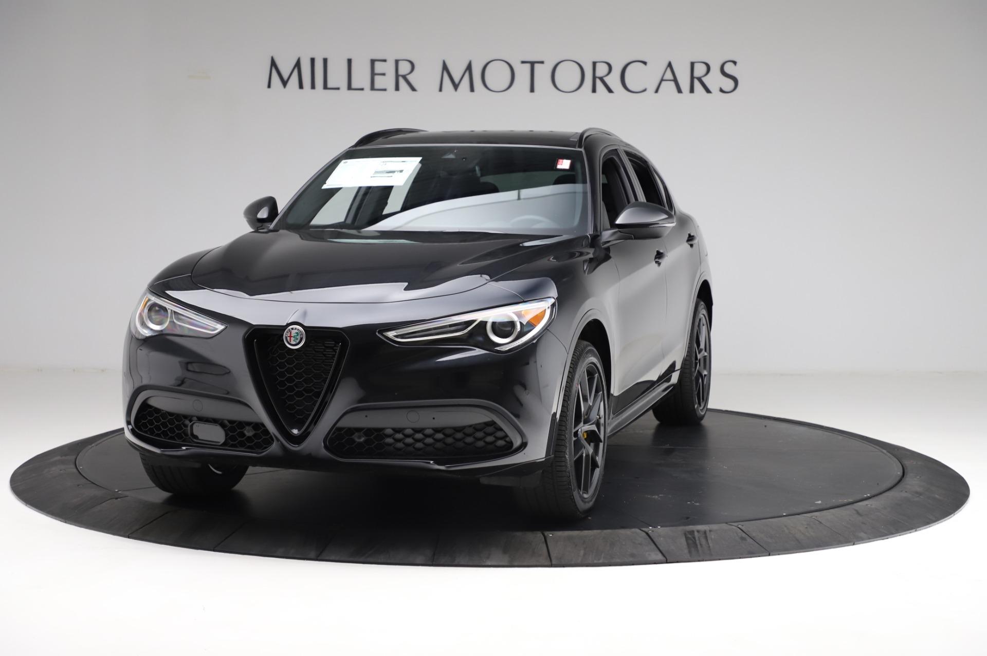 New 2021 Alfa Romeo Stelvio Ti Sport Q4 for sale $57,595 at McLaren Greenwich in Greenwich CT 06830 1