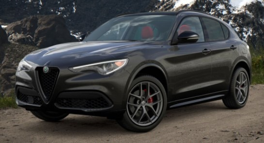New 2021 Alfa Romeo Stelvio Ti Sport for sale $55,950 at McLaren Greenwich in Greenwich CT 06830 1