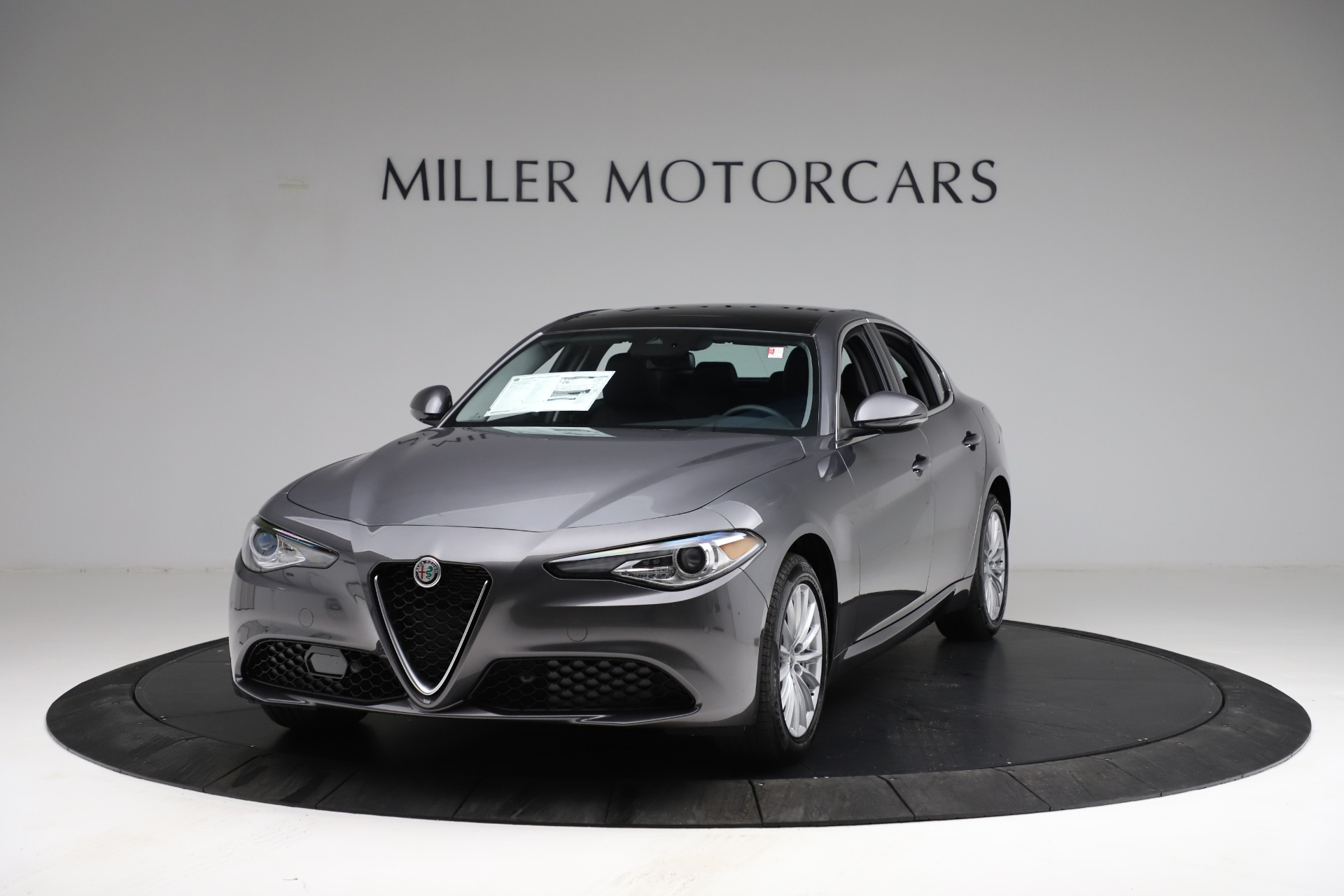 New 2021 Alfa Romeo Giulia Q4 for sale $46,895 at McLaren Greenwich in Greenwich CT 06830 1