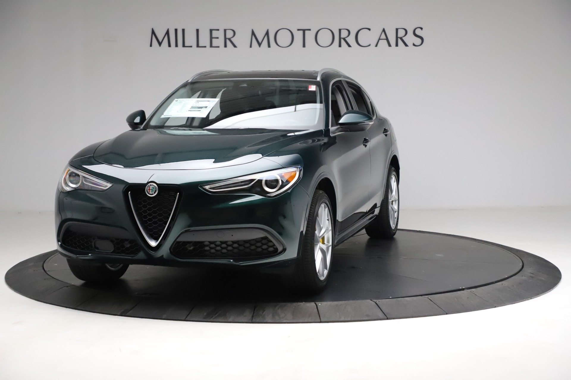 New 2021 Alfa Romeo Stelvio Ti Q4 for sale $53,800 at McLaren Greenwich in Greenwich CT 06830 1