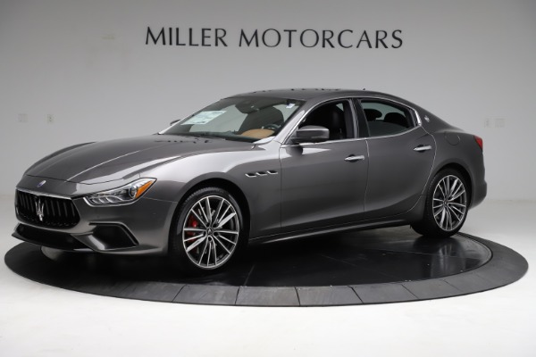 New 2021 Maserati Ghibli S Q4 for sale $90,525 at McLaren Greenwich in Greenwich CT 06830 2