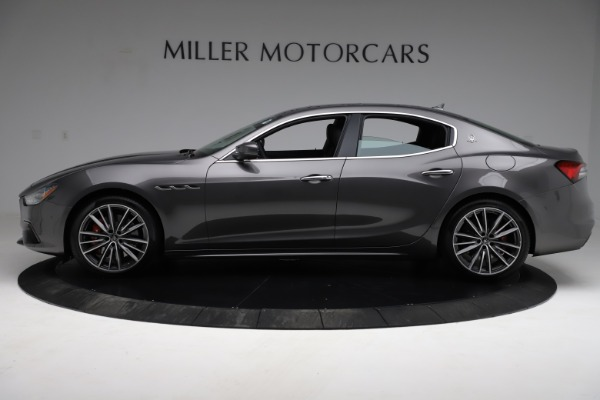 New 2021 Maserati Ghibli S Q4 for sale $90,525 at McLaren Greenwich in Greenwich CT 06830 3