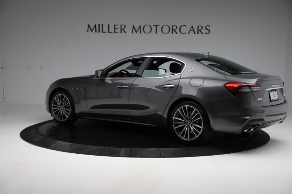 New 2021 Maserati Ghibli S Q4 for sale $90,525 at McLaren Greenwich in Greenwich CT 06830 4