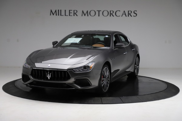 New 2021 Maserati Ghibli S Q4 for sale $90,525 at McLaren Greenwich in Greenwich CT 06830 1