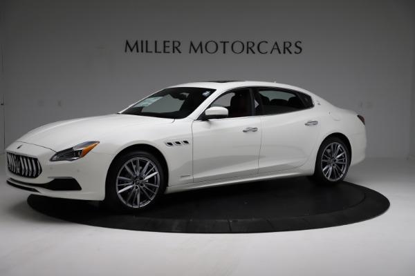 New 2021 Maserati Quattroporte S Q4 GranLusso for sale $122,349 at McLaren Greenwich in Greenwich CT 06830 2
