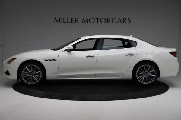 New 2021 Maserati Quattroporte S Q4 GranLusso for sale $122,349 at McLaren Greenwich in Greenwich CT 06830 3