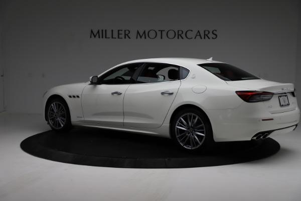 New 2021 Maserati Quattroporte S Q4 GranLusso for sale $122,349 at McLaren Greenwich in Greenwich CT 06830 4
